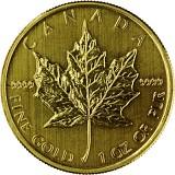 Canadian Maple Leaf 1oz Gold