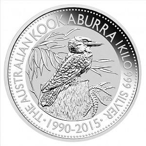 Kookaburra 1kg Silver - 2015
