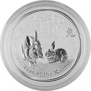 Lunar II Year of the Rabbit 1kg Silver - 2011