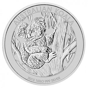 Koala 1kg Silver - 2013