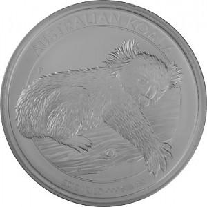Koala 1kg Silver - 2012