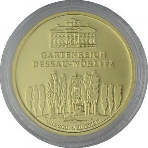 100 Euro 1/2oz Gold - 2013 Dessau-Wörlitz