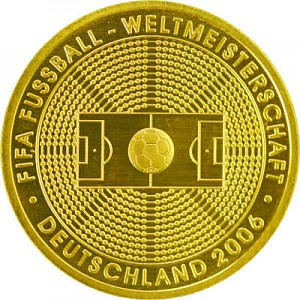 100 Euro 1/2oz Gold - 2005 Fifa Football Worldcup