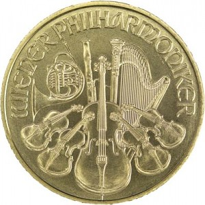 Vienna Philharmonic 1oz Gold