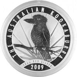 Kookaburra 10oz Silver - 2009