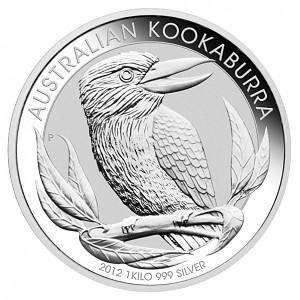 Kookaburra 1kg Silver - 2012