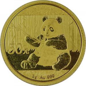 Chinese Panda 3g Gold - 2017