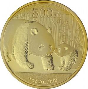 Chinese Panda 1oz Gold - 2011