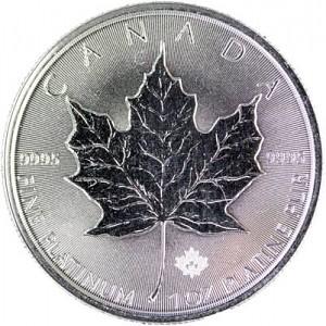 Canadian Maple Leaf 1oz Platinum