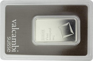 Platinum Bar 1oz (Standard Taxation)