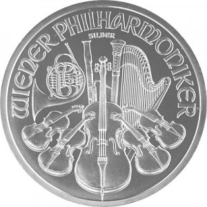 Vienna Philharmonic 1oz Silver
