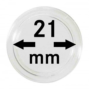 Coin Capsules 21mm, 1 Piece