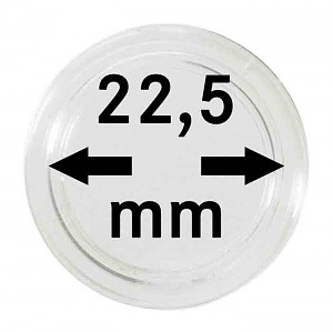 Coin Capsules 22,5mm, 1 Piece