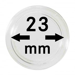 Coin Capsules 23mm, 1 Piece