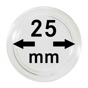 Coin Capsules 25mm, 1 Piece