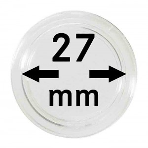 Coin Capsules 27mm, 1 Piece