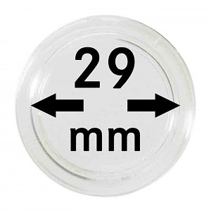 Coin Capsules 29mm, 1 Piece