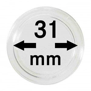 Coin Capsules 31mm, 1 Piece