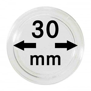 Coin Capsules 30mm, 1 Piece