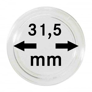 Coin Capsules 31,5mm, 1 Piece