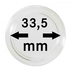 Coin Capsules 33,5mm, 1 Piece