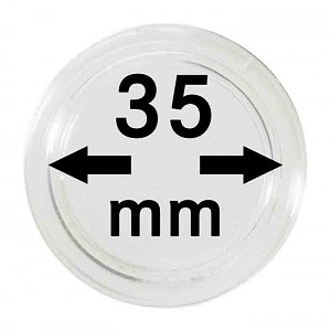Coin Capsules 35mm, 1 Piece