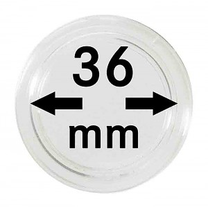 Coin Capsules 36mm, 1 Piece