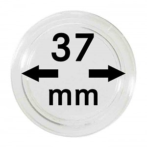 Coin Capsules 37mm, 1 Piece