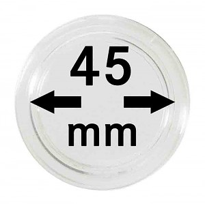 Coin Capsules 45mm, 1 Piece