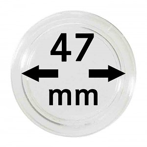 Coin Capsules 47mm, 1 Piece