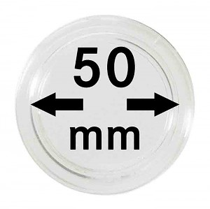 Coin Capsules 50mm, 1 Piece