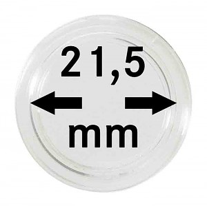 Coin Capsules 21,5mm, 1 Piece