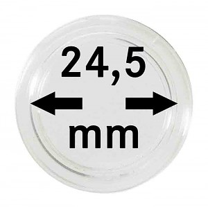 Coin Capsules 24,5mm, 1 Piece