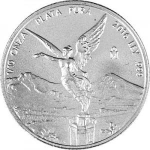 Mexican Libertad 1/10oz Silver