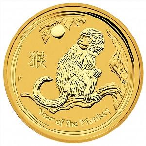 Lunar II Year of the Monkey 1oz Gold - 2016