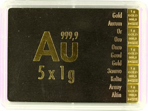 Gold Bar - CombiBar 5g (5x1g) Gold