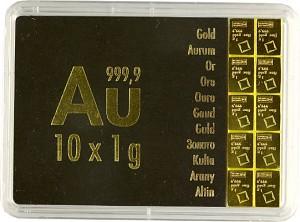 Gold Bar - CombiBar 10g (10x1g) Gold